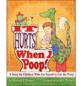 MAGINATION PRESS IT HURTS WHEN I POOP FOR CHILDREN SCARED OF POTTY PB BENNETT