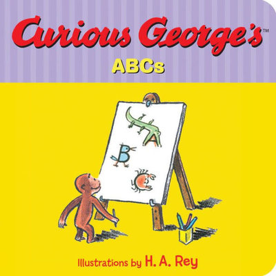 CURIOUS GEORGE ABC'S BB REY