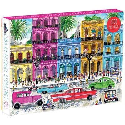 GALISON MICHAEL STORRINGS CUBA PUZZLE 1000 PC
