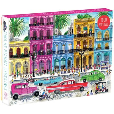 GALISON MICHAEL STORRINGS CUBA PUZZLE 1000 PIECE