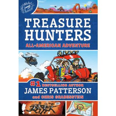 TREASURE HUNTERS 6 ALL AMERICAN ADVENTURE HB PATTERSON