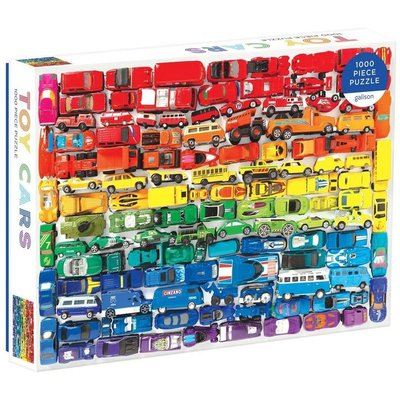 GALISON RAINBOW TOY CARS PUZZLE 1000 PC
