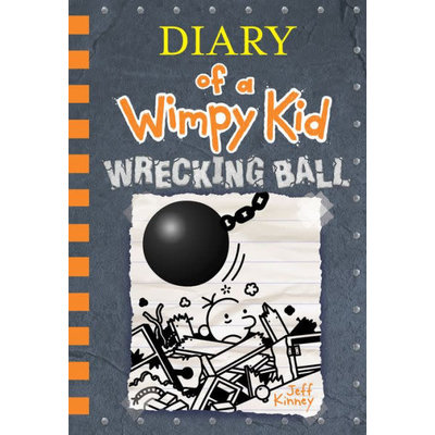 ABRAMS BOOKS DIARY OF A WIMPY KID 14 WRECKING BALL HB KINNEY