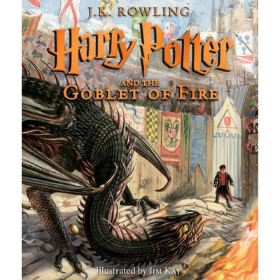 HARRY POTTER 4 GOBLET OF FIRE ILLUSTRATED HB ROWLING
