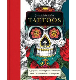 BARRONS JUST ADD COLOR TATTOOS