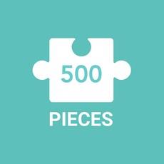 GALISON PAPER PARADISE PUZZLE 500 PIECE