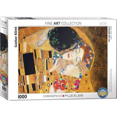 EUROGRAPHICS THE KISS DETAIL KLIMT 1000 PC PUZZLE
