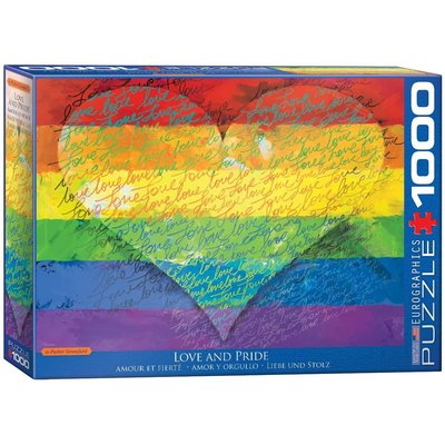 EUROGRAPHICS LOVE & PRIDE 1000 PC PUZZLE