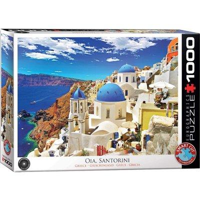EUROGRAPHICS OIA SANTORINI GREECE 1000 PC PUZZLE