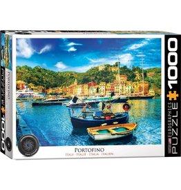 EUROGRAPHICS PORTOFINO ITALY 1000 PC PUZZLE