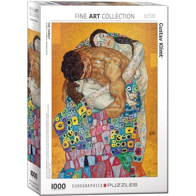EUROGRAPHICS THE FAMILY BY KLIMT 1000 PC PUZZLE