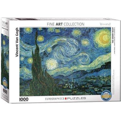 EUROGRAPHICS STARRY NIGHT VAN GOGH 1000 PC PUZZLE