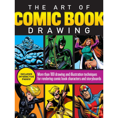 WALTER FOSTER JR BOOKS ART OF COMIC BOOK DRAWING PB FOSTER
