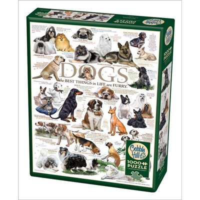 COBBLE HILL DOG QUOTES 1000 PC PUZZLE