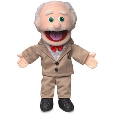 SILLY PUPPETS POPS GRANDPA PUPPET