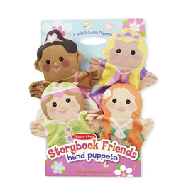 MELISSA AND DOUG STORYBOOK FRIENDS HAND PUPPETS