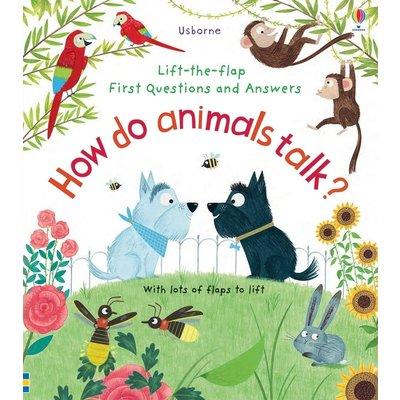 EDC PUBLISHING LIFT THE FLAP HOW DO ANIMALS TALK? BB