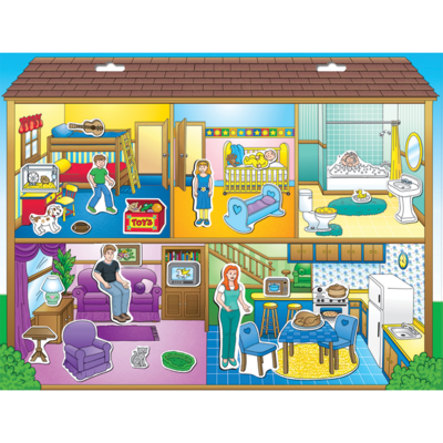 PLAYMONSTER CREATE A SCENE DOLLHOUSE