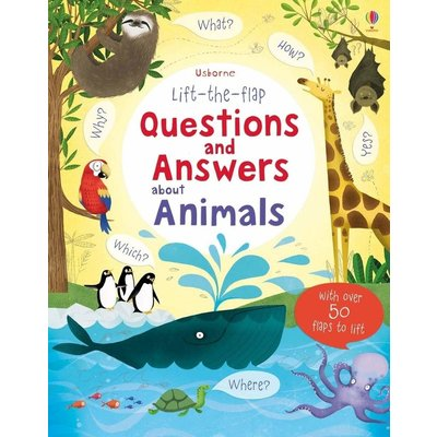 EDC PUBLISHING LIFT-THE-FLAP QUESTIONS AND ANSWERS ABOUT ANIMALS