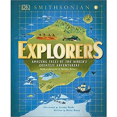 DK PUBLISHING EXPLORERS: AMAZING TALES WORLD'S GREATEST ADVENTURES HB DK