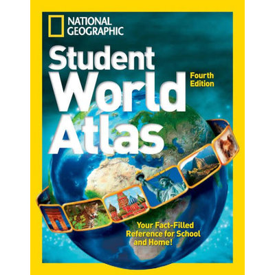 NATIONAL GEOGRAPHIC KIDS NATIONAL GEOGRAPHIC STUDENT WORLD ATLAS: FOURTH EDITION