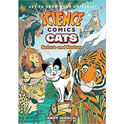 SCIENCE COMICS SCIENCE COMICS CATS PB HIRSCH