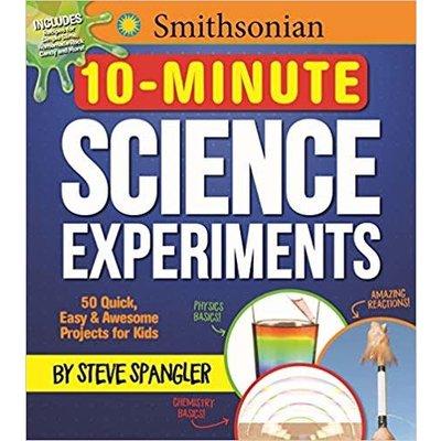 SMITHSONIAN 10-MINUTE SCIENCE EXPERIMENTS PB MEDIA