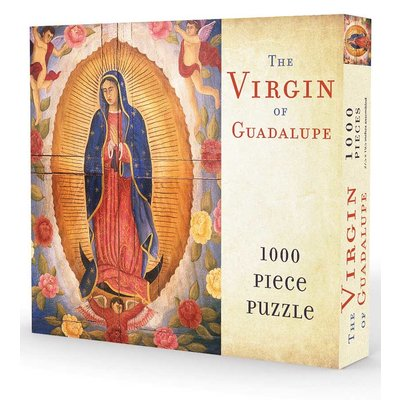 GIBBS SMITH VIRGIN OF GUADALUPE PUZZLE 1000 PC
