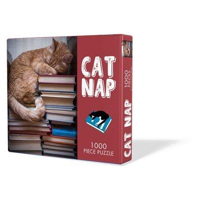GIBBS SMITH CAT NAP PUZZLE 1000 PIECE