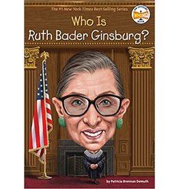 PENGUIN WORKSHOP WHO IS RUTH BADER GINSBURG PB DEMUTH