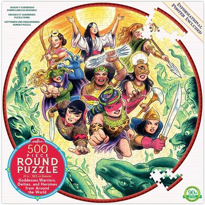 EEBOO GODDESSES AND WARRIORS 500 PC PUZZLE