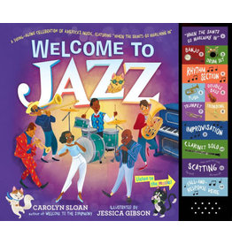 WORKMAN PUBLISHING WELCOME TO JAZZ SOUND BOOK HB SLOAN