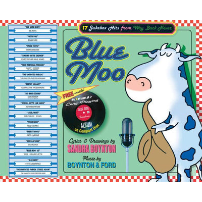 WORKMAN PUBLISHING BLUE MOO HB/CD BOYNTON
