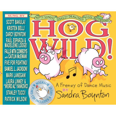WORKMAN PUBLISHING HOG WILD HB/CD BOYNTON