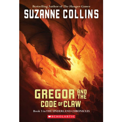 SCHOLASTIC UNDERLAND CHRONICLES 5 GREGOR & CODE OF CLAW PB COLLINS