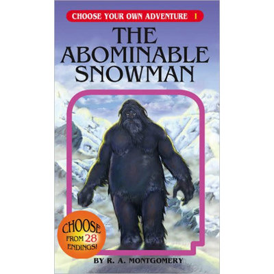 CHOOSECO CHOOSE YOUR OWN ADV 1 ABOMINABLE SNOWMAN PB MONTGOMERY