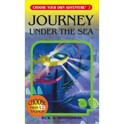 CHOOSECO CHOOSE YOUR OWN ADV 2 JOURNEY UNDER THE SEA PB MONTGOMERY