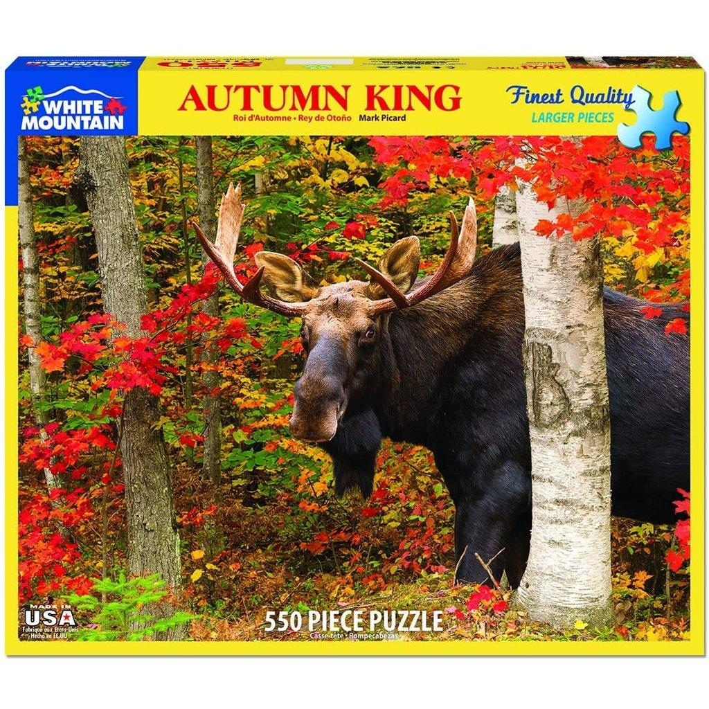 WHITE MOUNTAIN PUZZLE AUTUMN KING 550 PIECE