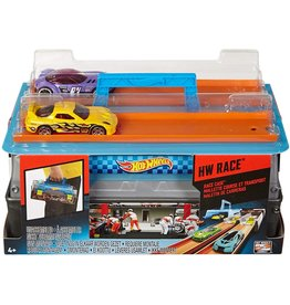 MATTEL HOT WHEELS RACE CASE / DUAL LAUNCHER
