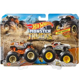MATTEL HOT WHEELS MONSTER TRUCKS 2 PACK