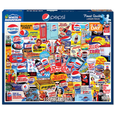 WHITE MOUNTAIN PUZZLE PEPSI 550 PC PUZZLE