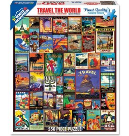 WHITE MOUNTAIN PUZZLE TRAVEL THE WORLD 550 PC PUZZLE