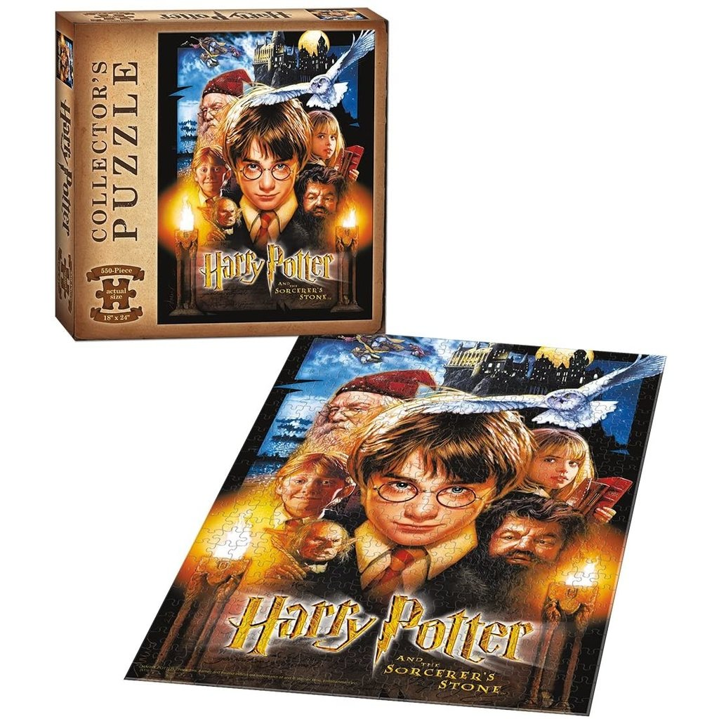 USAOPOLY HARRY POTTER SORCERERS STONE 550 PIECE