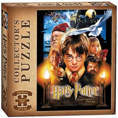USAOPOLY HARRY POTTER SORCERERS STONE 550 PC PUZZLE