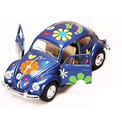 FLOWER POWER CLASSIC VW BEETLE*