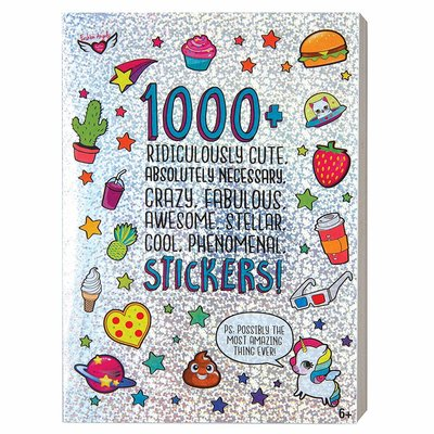 FASHION ANGELS 1000+ STICKER BOOK