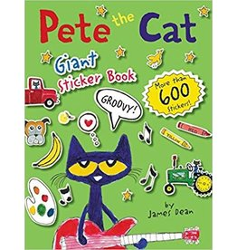 HARPERCOLLINS PUBLISHING PETE THE CAT GIANT STICKER BOOK PB