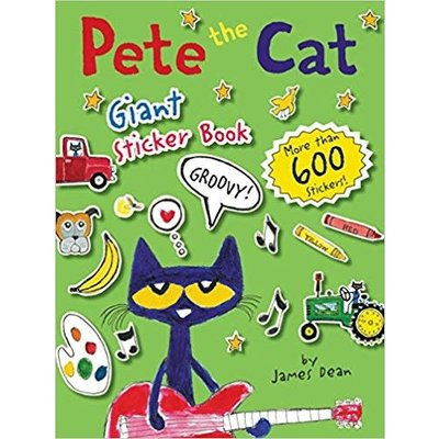 HARPERCOLLINS PUBLISHING PETE THE CAT GIANT STICKER BOOK