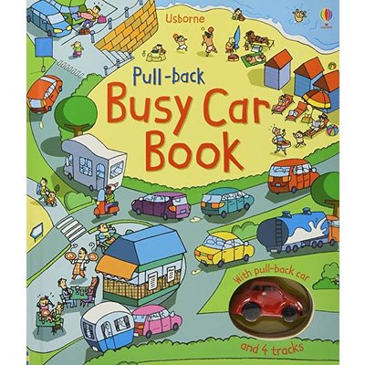 EDC PUBLISHING PULL BACK BUSY CAR BOOK