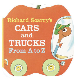 RANDOM HOUSE CARS AND TRUCKS A TO Z BB SCARRY